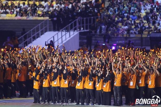 Trực tiếp lễ bế mạc SEA Games 29: Một Malaysia đa dạng và hòa hợp - Bóng Đá