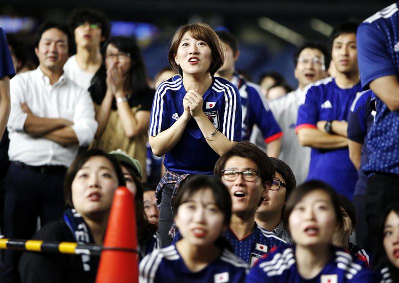 Cổ động viên Nhật Bản trên khắp thế giới ăn mừng chiến tích lịch ...