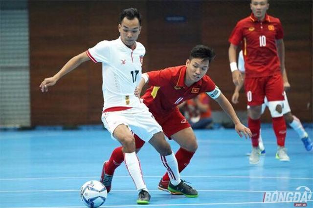 Thắng đậm Myanmar, ĐT Futsal Việt Nam thắp lại hy vọng giành huy chương - Bóng Đá