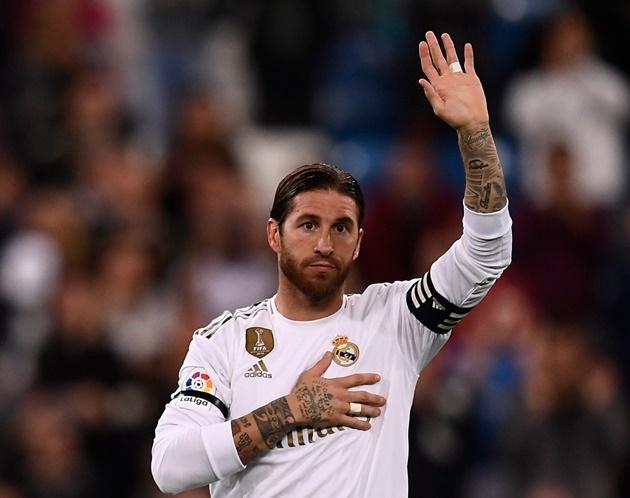 CHÍNH THỨC: Sergio Ramos chia tay Real Madrid - Bóng Đá
