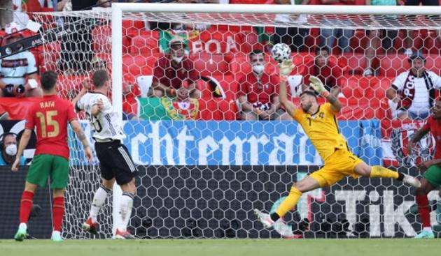 Đức vùi dập Bồ Đào Nha trong trận cầu 6 bàn thắng - Bóng Đá