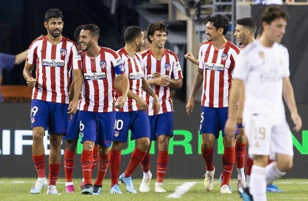 Atletico sẵn sàng nghênh chiến Juventus - Bóng Đá