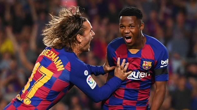 Ansu Fati khởi đầu sự nghiệp tốt hơn Messi - Bóng Đá