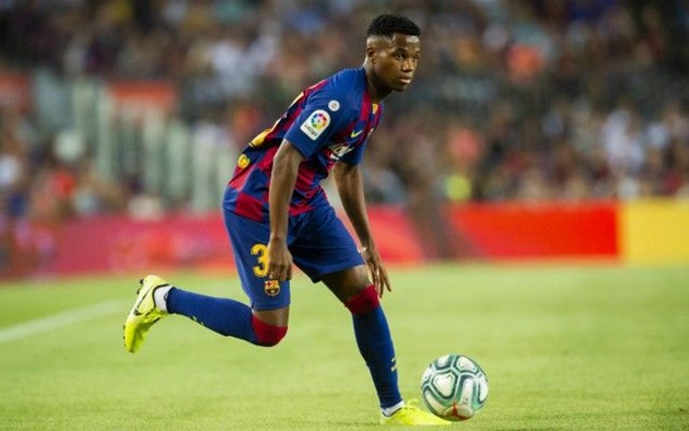 Spain consider handing full call up to Ansu Fati – would ensure he couldn't change to Portugal later - Bóng Đá