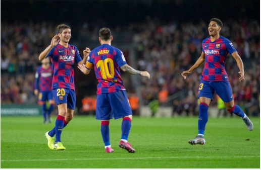 BARCELONABarcelona: Some fans on Twitter were delighted Sergi Roberto came off injured - Bóng Đá