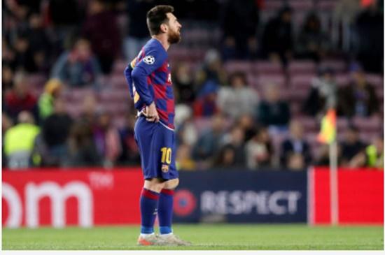 Phản ứng của Messi trong trận hòa - Bóng Đá