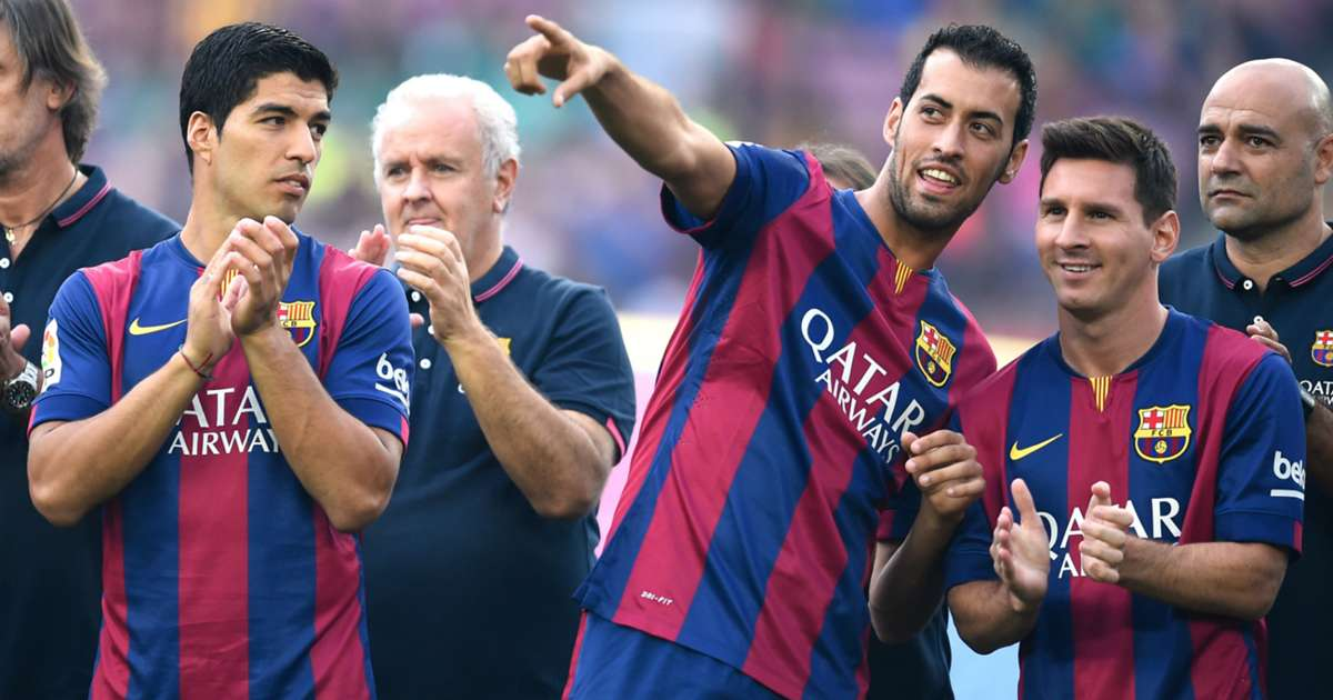 Sergio Busquets is 'Barca's most important player, along with Lionel Messi' - Bóng Đá