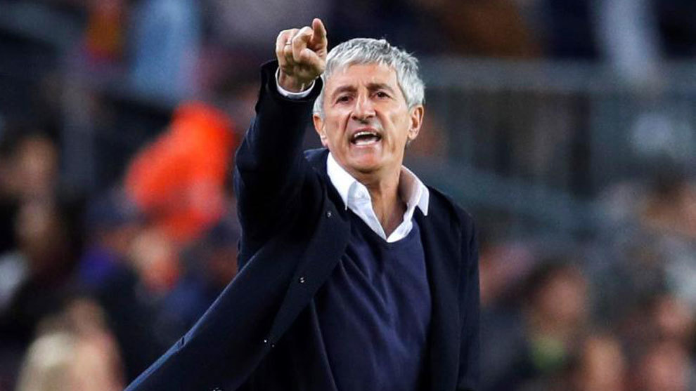 Setien: The match could have finished 8-2 or 8-3 - Bóng Đá