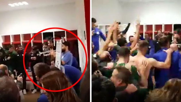 Spanish Football  Athletic celebrated reaching Copa final by playing the trumpet! - Bóng Đá
