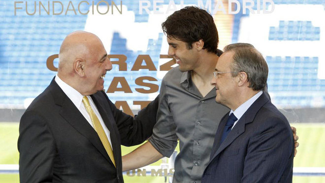 Kaka's agent on the Brazilian's move to Real Madrid: He didn't want to leave AC Milan - Bóng Đá
