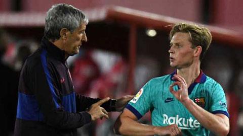 Argument between Setien and Barcelona squad in dressing room at Balaidos - Bóng Đá
