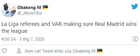 """""""VAR and Real Madrid have won La Liga"""" - Bóng Đá"""