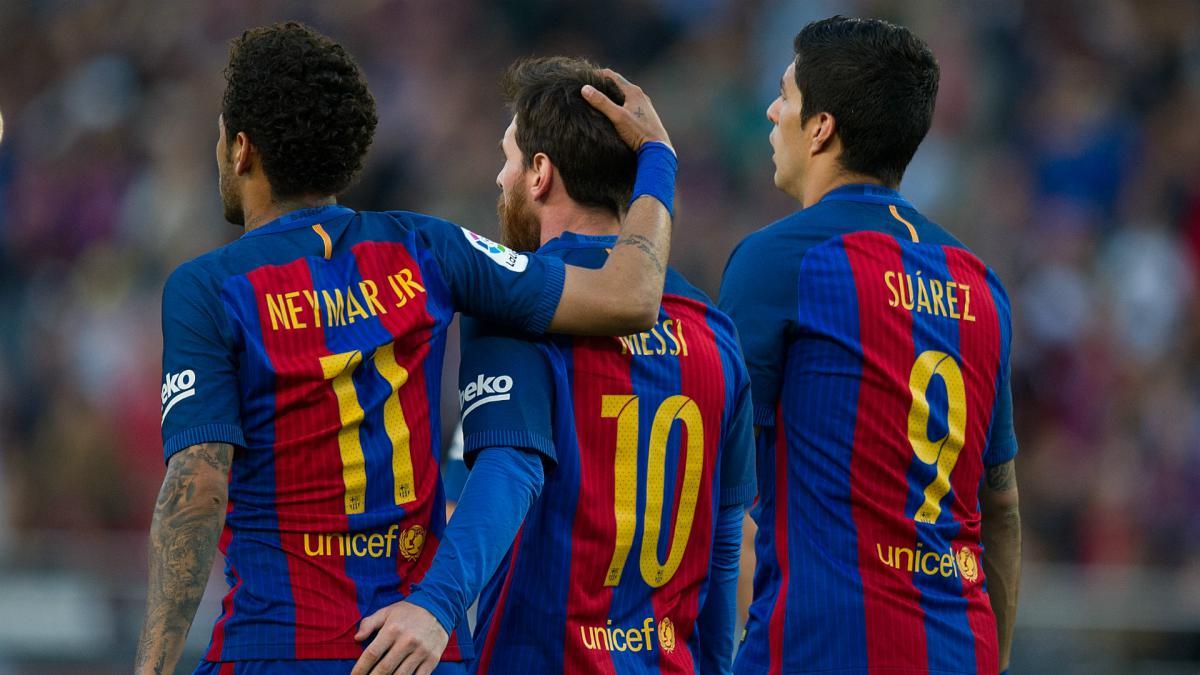 Suarez ghi bàn nhiều thứ ba trong lịch sử Barca - Bóng Đá
