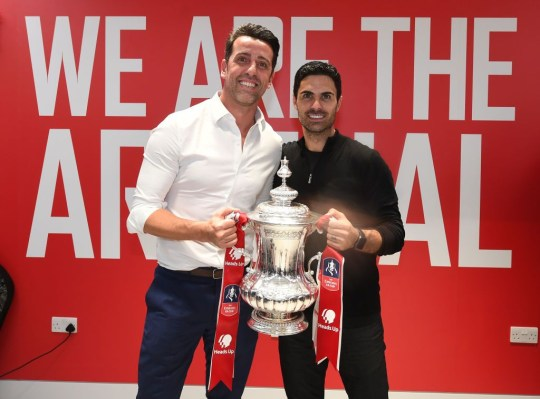 Edu sends honest transfer message to Arsenal fans amid Houssem Aouar and Thomas Partey rumours    - Bóng Đá