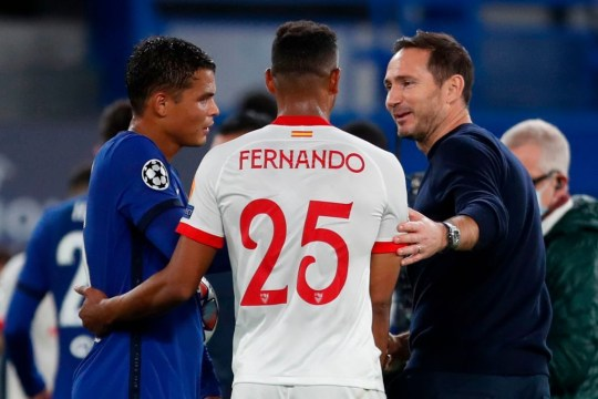 Frank Lampard provides Thiago Silva injury update after Chelsea's draw with Sevilla - Bóng Đá