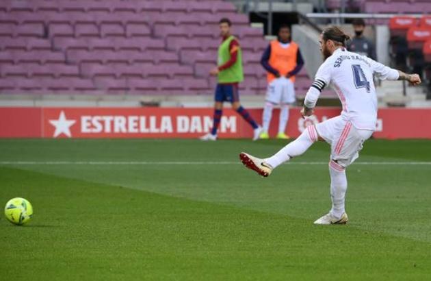 TRỰC TIẾP Barcelona 1-2 Real Madrid: Ramos giúp đội khách dẫn trước - Bóng Đá