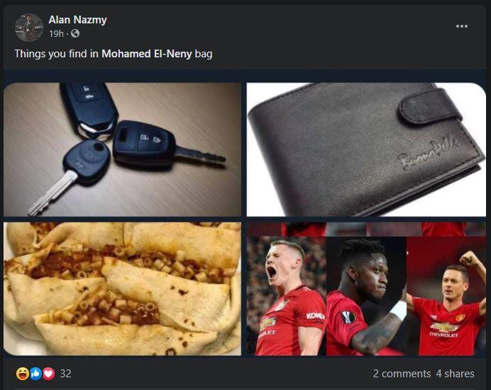 Elneny's agent mocks Manchester United on social media - Bóng Đá