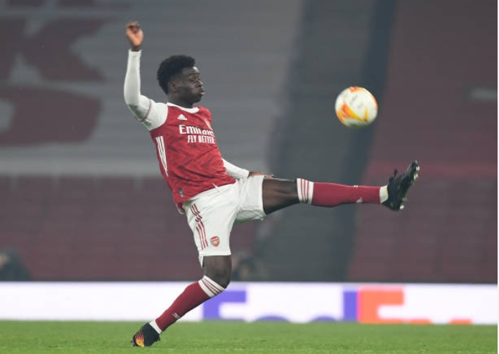 'Play him anywhere': Arsenal fans rave about Bukayo Saka following Molde performance - Bóng Đá