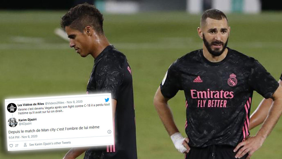 Benzema's agent takes aim at Varane: Since the City game, he's been a shadow of himself - Bóng Đá
