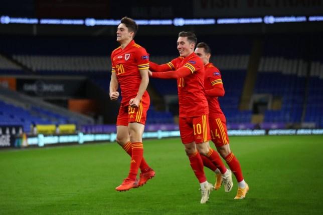 Daniel James sends message to Ole Gunnar Solskjaer with stunning goal for Wales  - Bóng Đá