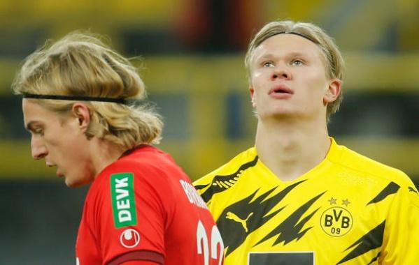 Haaland, Sancho im tiếng, Dortmund
