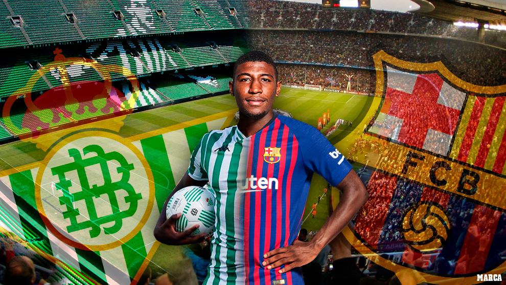 Emerson thuộc biên chế của cả Barca lẫn Betis.