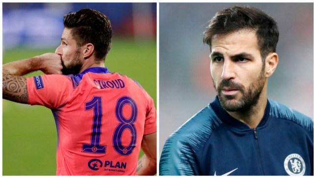 Cesc Fabregas sends class message to Olivier Giroud after Chelsea masterclass against Sevilla - Bóng Đá