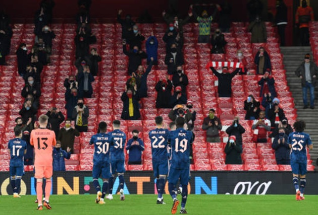Arteta hails Arsenal fans and gives update on Partey - Bóng Đá
