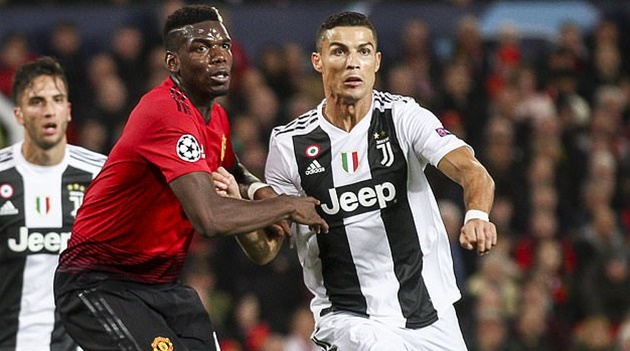 Juventus considering Cristiano Ronaldo, Paul Pogba swap deal? - Bóng Đá