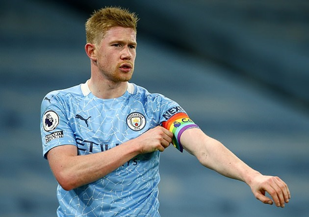 Kevin De Bruyne wary of threat posed by wounded Manchester United  - Bóng Đá
