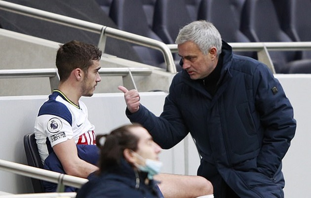 Tottenham manager Jose Mourinho insists there is 'no chance' midfielder Harry Winks will leave the club - Bóng Đá