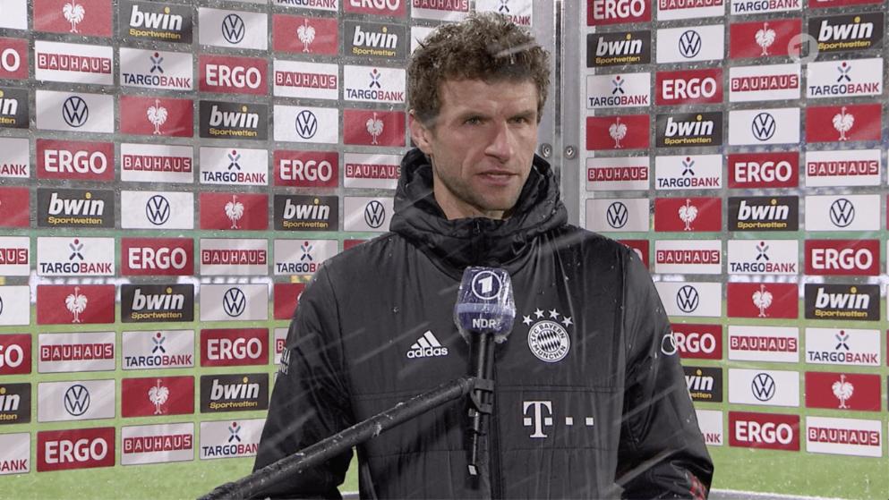Müller motzt ARD-Reporterin an - Bóng Đá