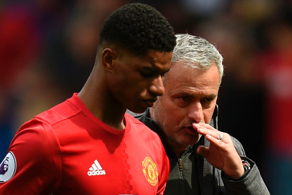 How Jose Mourinho helped Marcus Rashford become 'savvy' in the penalty area at Manchester United - Bóng Đá