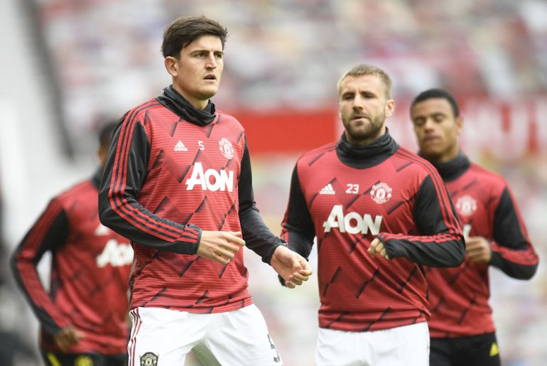Harry Maguire, Bruno Fernandes and Luke Shaw are all at risk of suspension ahead of the trip to Fulham.  - Bóng Đá