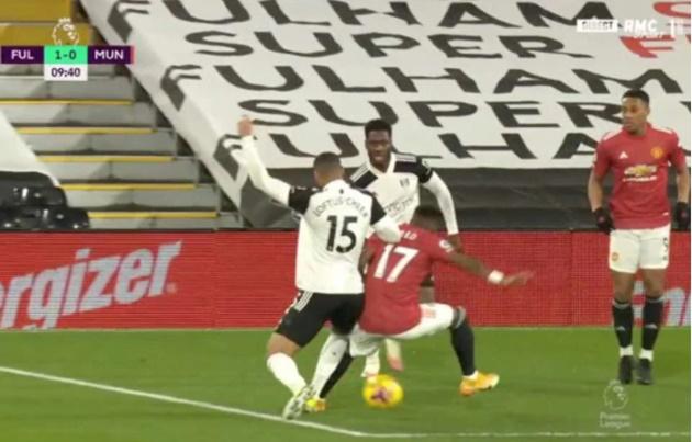 Man United fans blame Jurgen Klopp after Fred is denied penalty vs Fulham - Bóng Đá