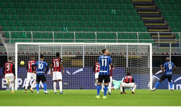 TRỰC TIẾP Inter Milan 1-1 AC Milan: Lukaku gỡ hòa  - Bóng Đá