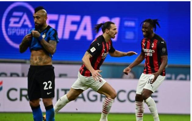 TRỰC TIẾP Inter Milan 0-1 AC Milan: Ibrahimovic lập công - Bóng Đá
