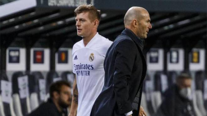 Kroos: The Zidane debate will return - Bóng Đá