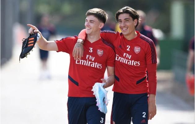 Report: Kieran Tierney may replace Hector Bellerin as Arsenal's vice-captain - Bóng Đá