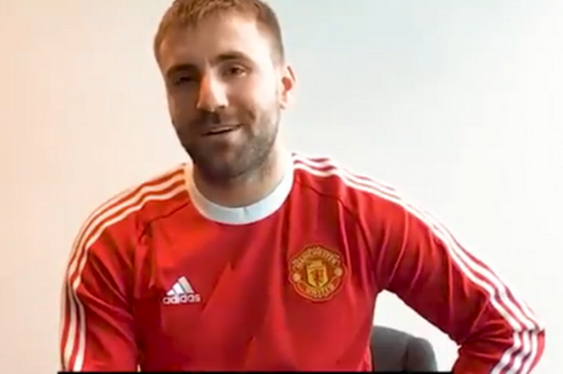 Luke Shaw explains rivalry with Bruno Fernandes at Manchester United - Bóng Đá