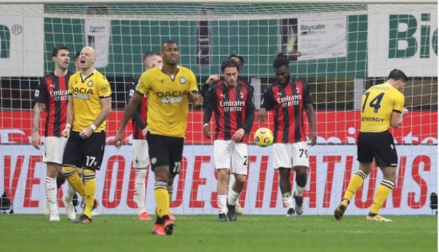 Pioli blames Udinese's tatics - Bóng Đá