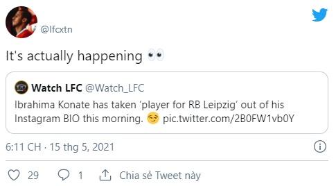 Ibrahima Konate sends Liverpool fans wild with Instagram update - Bóng Đá