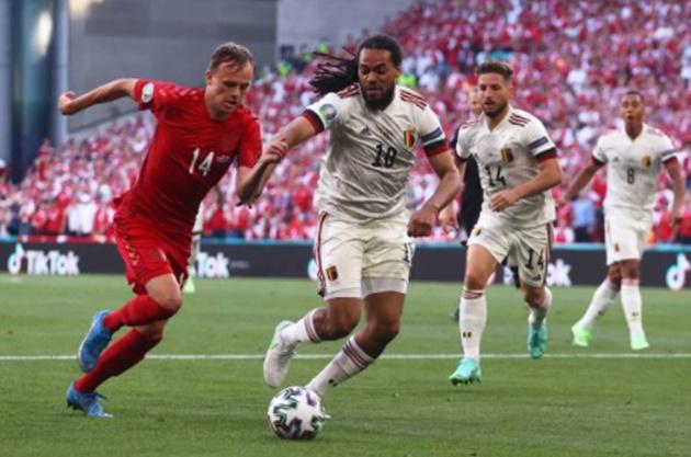 TRỰC TIẾP Đan Mạch 1-0 Bỉ: Damsgaard nhảy múa! - Bóng Đá
