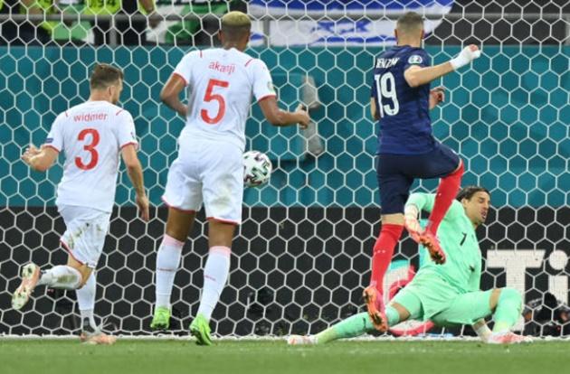 TRỰC TIẾP Pháp 2-1 Thụy Sĩ (H2): Cú đúp cho Benzema!  - Bóng Đá