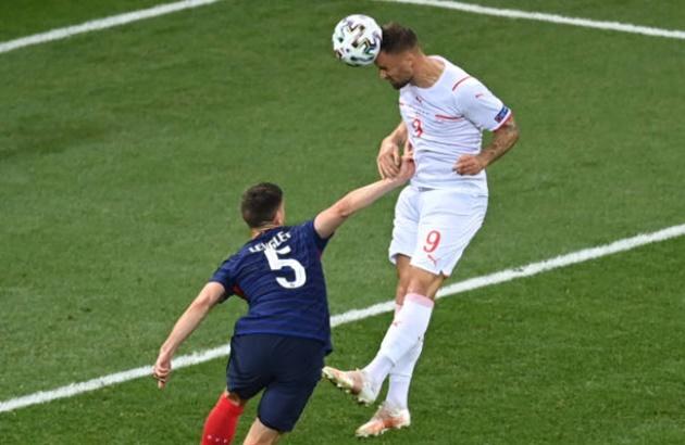 TRỰC TIẾP Pháp 0-1 Thụy Sĩ (H1): Seferovic đánh đầu uy lực! - Bóng Đá