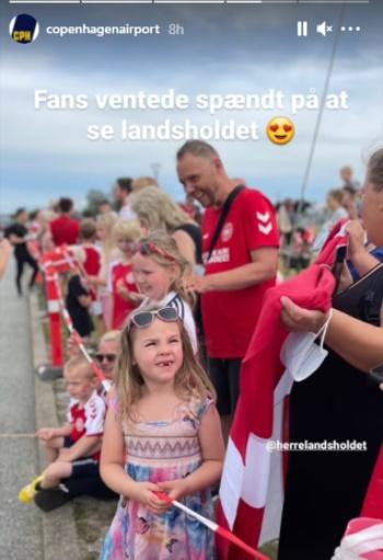 Đan Mạch được chào đón như người hùng sau trận thua tuyển Anh - Bóng Đá