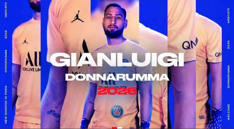 Donnarumma gia nhập PSG - Bóng Đá