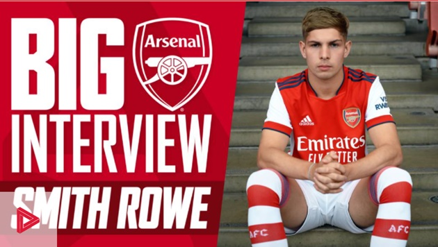 Emile Smith-Rowe signs his new contract with Arsenal until June 2026 - Bóng Đá