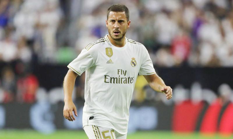 Sao Real bất ngờ trước body hoàng kim của Hazard - Bóng Đá