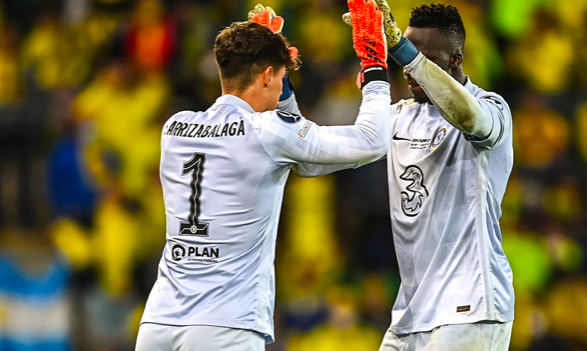 'De Gea taking notes!' - Chelsea supporters can't resist Man United dig as Kepa inspires victory - Bóng Đá